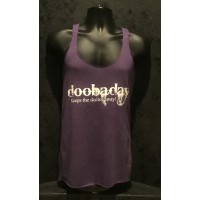 doobaday - Keeps the Doctor Away - Next Level® Ladies Tank